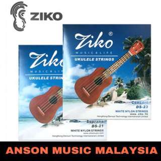 Ziko Ukulele Strings for Soprano & Concert