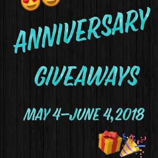 repost...anniversary give aways of onestepcloser22😍😍😍