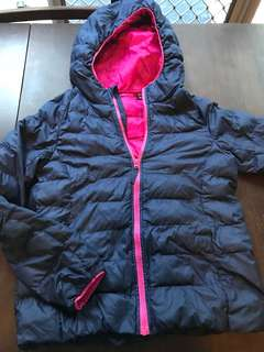 Girls size 8 Uniqlo puffer