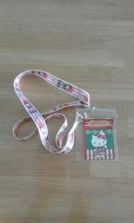 Sanrio Melody Lanyard & Hello kitty cardholder