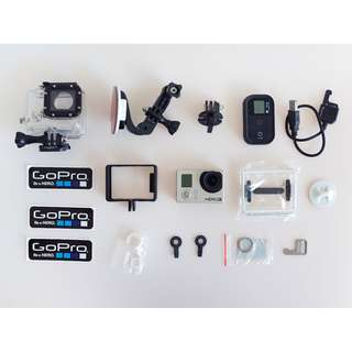 GoPro Hero 3 & All Accessories