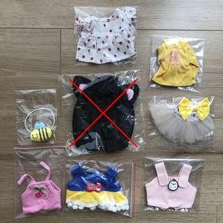 Instock EXO 15-20cm clothes