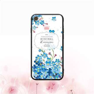 Minimal Floral Abstract Case for iPhones