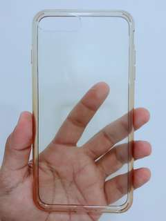 Original SPIGEN clear casing for iPhone 8+ with box from Saudi Arabia