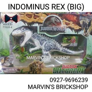 For Sale Jurasic World Indominus Rex (BIG) with FREE Small Dino