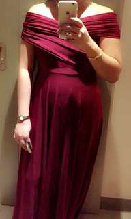 Karimadon Gorgeous Long Gown (Used once) Sale
