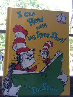 I Can Read with My Eyes Shut! Dr. Seuss book