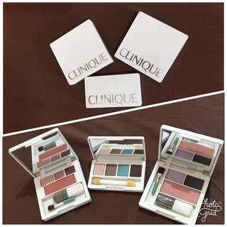 Clinique Eyeshadow / Blush On MakeUp Bundle