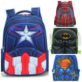 🍃Avengers and Heroes Bag