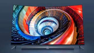 Xiaomi 65 inch 4K Curved LED TV with Sound Bar