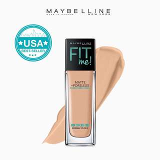 Maybelline fit me Matte +poreless liquid Foundation