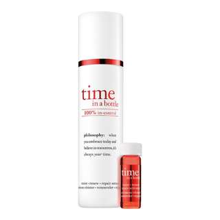 Brand New! PHILOSOPHY Time In A Bottle 100% In-Control Repair Serum