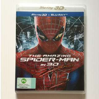 The Amazing Spider-Man Blu Ray 3D + Blu Ray