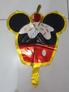 Balon Foil Mickey dan Cincin I Do