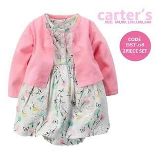 Baby Cardigan and Dress Set - DST08