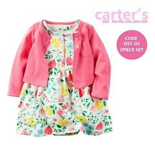 Baby Cardigan and Dress Set - DST02