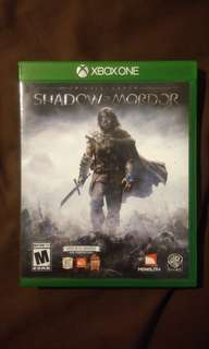 XBOX ONE Game - Middle Earth : Shadow of Mordor (CD)