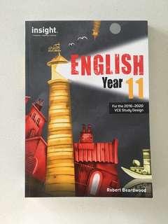English Year 11 - VCE