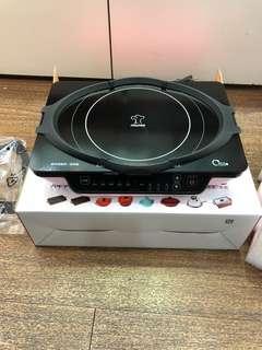 🚚 全新multee摩堤琺瑯A4 plus-1200IH智慧電磁爐