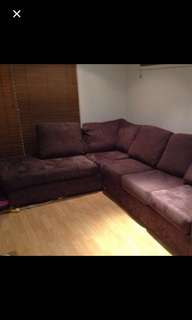 L shape sofa in great condition