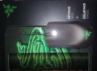 Bundle Razer Mouse and Keyboard