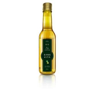 Sans Vita高品質小果茶籽苦茶油240ml- (2瓶) 可以冰的初榨未調和苦茶油