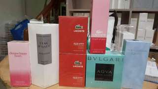 For SALE TESTER PERFUMES FROM DUBAI