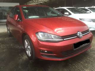 Volkswagen Golf Mk7 Tsi 1.4 AT 2013