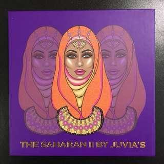 The Saharan II Eyeshadow Palette By Juvia's