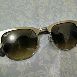 Ray Ban Aluminium Clubmaster Sunglasses Original RB3507 139/85 Mulus Total!
