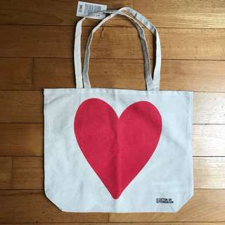 COTTON ON Heart Tote