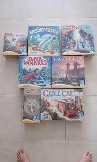 (Bundle Deal) 6 + 1 Brand New Board Games