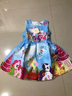 Brand new my little pony dress