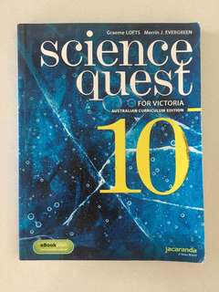 Science Quest 10 - VIC