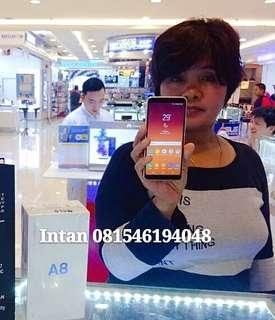 Samsung A8 gold murah bisa cash & kredit