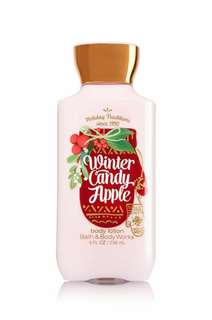 Winter Candy Apple Bath & Body Works Body Lotion