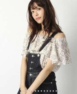 Heather 2way圖騰平口上衣