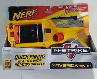 Nerf N strike Maverick Unopened, unused .