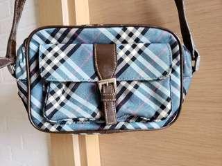 Burberry London Blue Label Cross-Body Shoulder Bag