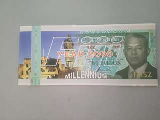 Fiji Island millennium collectable