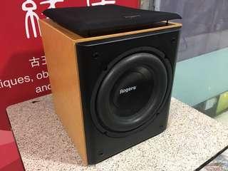 英國名廠Rogers 10吋有源超低音