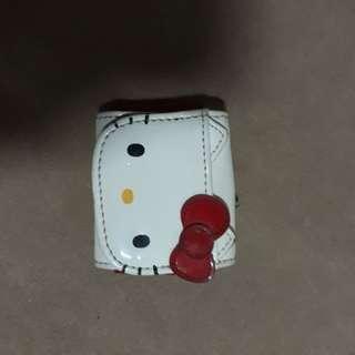 🚚 日本正版 hello kitty 凱蒂貓 皮革 收納吊飾 稀少稀有