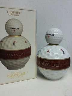 Camus Napoleon Cognac 金花哥爾夫球陶瓷 700ml