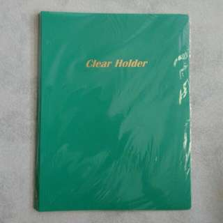 BN 20 Pockets Clear File