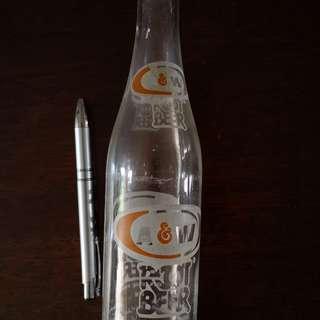 A&W bottle