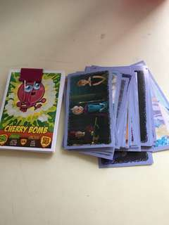 Stickers and cards