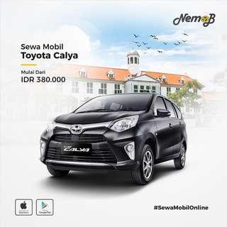 Sewa mobil Calya 2018 di Jakarta, murah dan berkualitas. Hanya 380 ribu dengan driver.