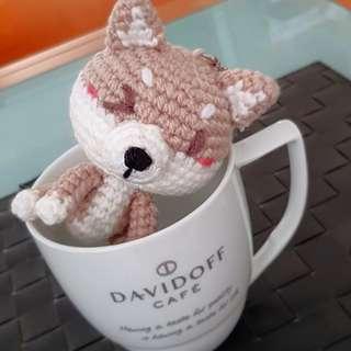 Shibu inu crochet