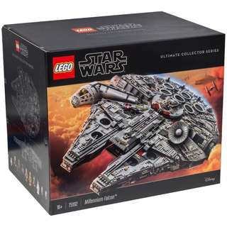 Lego Star Wars 75192 millennium falcon ups in stock Free Delivery