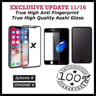 ★No.1 Selling★ Iphone X/7/8/7 plus /8 plus tempered glass